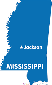 State Capitol Map by Mississippi Map Blank Political Mississippi Map With Cities