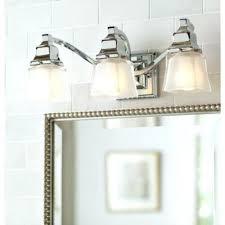 Brushed Nickel Bathroom Light Fixture Northlight Co 3 Light Bathroom Fixture