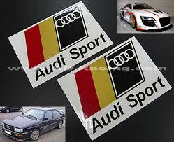 audi sport store audi sport logo x 2 pcs kd racing vinyl decal sticker pro