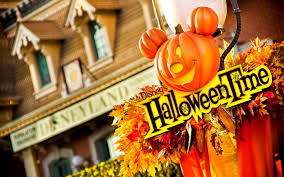 helloween wallpaper halloween pumpkin house decoration leaves corn mickey mouse