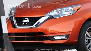 nissan versa note 2017 nissan versa note spied undisguised with updated look
