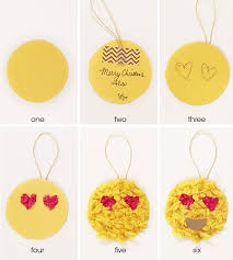 diy it emoticon ornament gift tags joanna kam