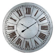 horloge murale vintage pendule inspirations et grosse horloge