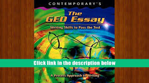 audiobook the ged essay writing skills to pass the test ged