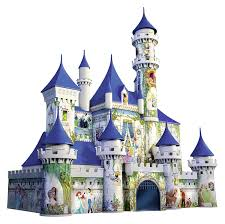 amazon com ravensburger disney castle 3d puzzle 216 piece toys