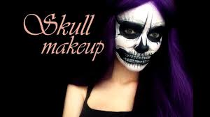 Halloween Skull Makeup Tutorial Skull Makeup Tutorial By Sabik Halloween Youtube