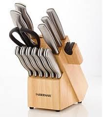 Farberware Kitchen Knives Cutlery U0026 Knives Kitchen Home Herberger U0027s