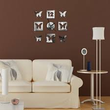 alva diy acrylic mirror butterfly wall sticker clock drawing room alva diy acrylic mirror butterfly wall sticker clock drawing room decorno wc85 additional