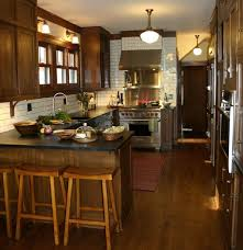 Kitchen Colors With Oak Cabinets And Black Countertops Magen Kitchen Lab Finishes Custom Oak Cabinets With Custom