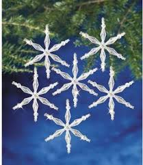 the beadery snowflake ornament bead kits and crafts
