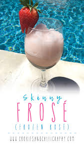 canap駸 lits cinna frosé frozen rosé sugar calories and sugaring