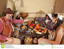 thanksgiving thanksgiving dinner table stock photo image