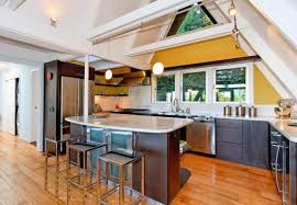 Modern Kitchen For Small Spaces Modern Kitchen All In One Kitchen U0027s Island Designs To Fit Small Spaces
