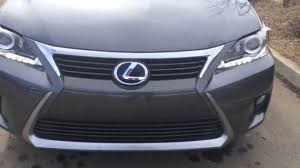 lexus ct 200h 1 8 f sport 5dr review 2014 lexus ct 200h hybrid standard equipment review alberta youtube
