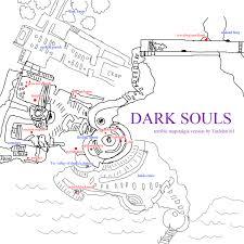 Dark Souls 2 Map Dark Souls Mapstalgia