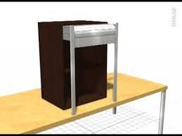 meuble à rideau cuisine meuble rideau cuisine petit déjeuner coulissant volet aluminium l60