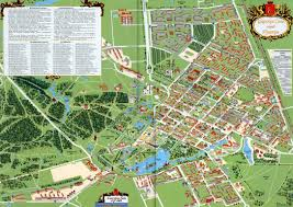 Anastasia State Park Map by Tsarskoye Selo 1710 And Its Map Of 2013 Start From The Map U0027s