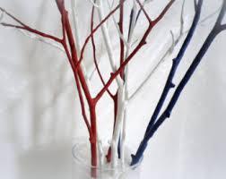 Wood Branches Home Decor White Tree Branches Scandinavian Home Decor Woodland Decor