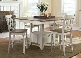 progressive furniture willow counter height dining table counter height dining set silver drop leaf counter height dining