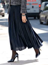 pleated skirt uta raasch pleated skirt navy