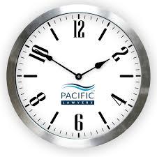 Wall Watch by Logo Clocks Custom Logo Wall Clocks The Big Clock Store