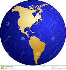 Map Americas by Map Of The Americas Stock Photos Image 6012403