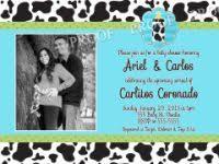 animal print boy baby shower invitations
