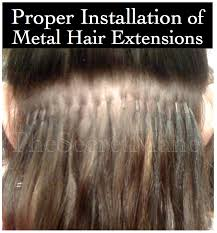 glued in hair extensions proper way to install hair extensions with micro rings