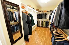 cutomorized closet space interior design window treatments