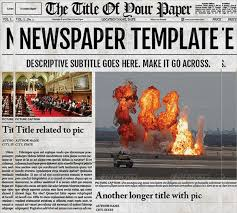 old newspaper template u2013 13 free psd eps indesign documents