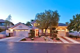 Property Brothers Las Vegas Home by Guard Gated Toll Brothers Single Story Home With Solar Heated Pool