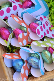 easter table favors easter table treat favors craft o maniac