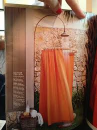 Outdoors Shower Curtain by Martha Stewart Living Outdoor Shower My Luck This Would Be My