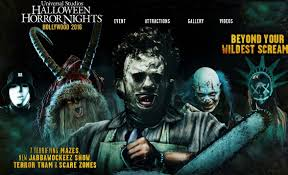 halloween horror nights map 2016 hha 2016 best halloween theme park hollywood gothique