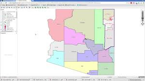 Arizona County Map How To Find Gps Coordinates Of Land In Apache County Az Youtube