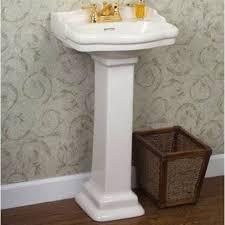 Pedestal Bathroom Sink by Barclay 3 874 Stanford 460 Series 4 Centerset Pedestal Bathroom