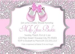 baby girl shower invitations baby shower invitations exciting free printable baby shower