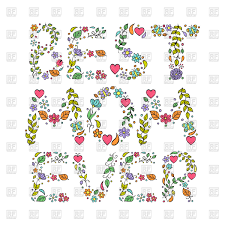 Mother S Day Designs Best Mom Ever Floral Design Of Mother U0027s Day Card Vector Image