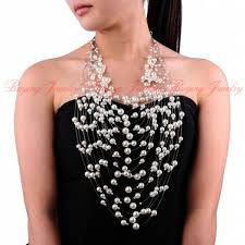 long pearl bead necklace images Attractive 2014 autumn brand new design jewelry20 layered 5 multi jpg