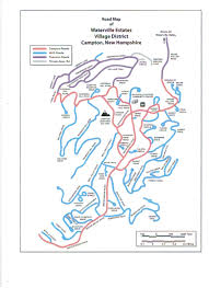 Nh Map Wea Road Map Waterville Estates