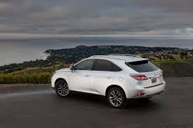 lexus rx los angeles 2015 lexus rx350 and rx450h updated automobile magazine