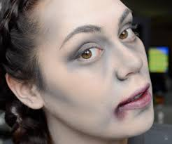 tatum h makeup easy zombie or vampire anything dead halloween