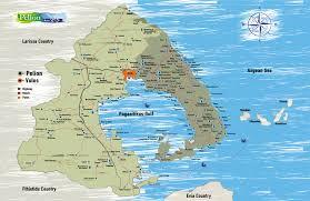 volos map wide area pelion pilio pelion pilion villages in pelion greece