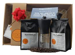 coffee gift sets coffee grinder gift set edgcumbes tea coffee