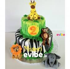jungle theme cake order jungle theme cake online birthday cake in