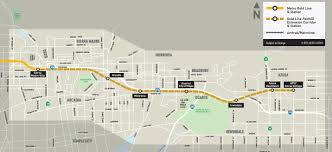 Metrolink Los Angeles Map by Gold Line Foothill Extension Preview Ride From Pasadena To Azusa