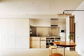 Kitchen Interiors Design Bet Your Whole Kitchen Can U0027t Tuck Into A Closet Like In This Tokyo