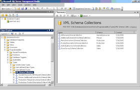 how to view table in sql the fundamentals of the sql server 2005 xml datatype