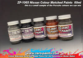 nissan paint 60ml zp 1065 zero paints
