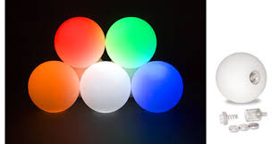 lighted juggling balls at serious juggling